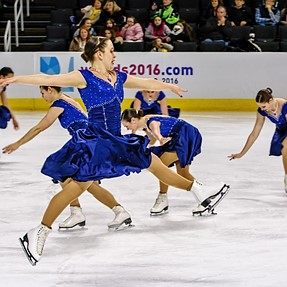 Synchronized Figure Skating