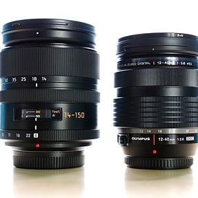 Best superzoom lens (Panasonic Leica D 14-150mm) - mini review
