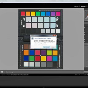 Color Checker Passport Lightroom Issue