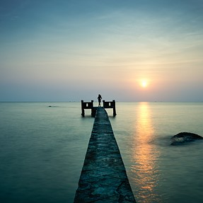 Long Hai beach, Viet Nam