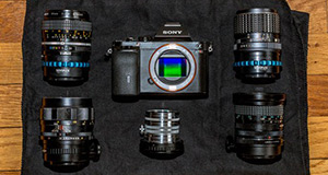 Third-party lenses on the Sony a7 / a7R