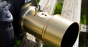 The Lomography Petzval 85mm lens