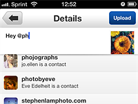 Flickr for iOS gets more social