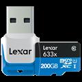 Class 10 200GB microSD card on the way from Lexar