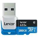 Class 10 200GB microSD card on the way from Lexar