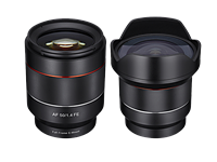 Samyang announces 14mm F2.8 and 50mm F1.4 autofocus FE lenses