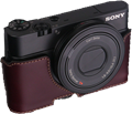 Gariz leather half-case for Sony RX100