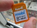 Hands-on with Eye-Fi Mobi card