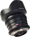Samyang creates cinema versions of 14mm, 24mm and 35mm lenses