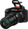 Olympus announces Stylus SP-100 superzoom with dot-sight