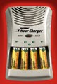 Rayovac announce 1-hour NiMH charger