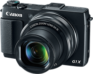 Canon PowerShot G1 X Mark II adds faster lens and AF to big-sensor body