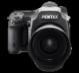 Pentax adds tethered shooting to 645D medium-format DSLR