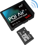 PQI Air Wi-Fi MicroSD to SD adapter reviewed by DCWatch