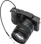 Richard Franiec offers clip-on cable-release mount for Samsung NX200