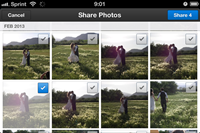 Dropbox adds multiple photo sharing to mobile app