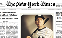 Photographer's smartphone shot earns front page position on NYT