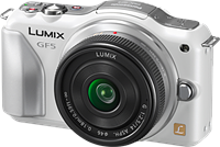 Panasonic DMC-GF5 12MP mirrorless camera announced and previewed