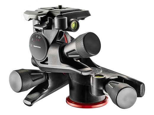 Manfrotto releases XPRO Geared tripod head for precision adjustments with heavy kit