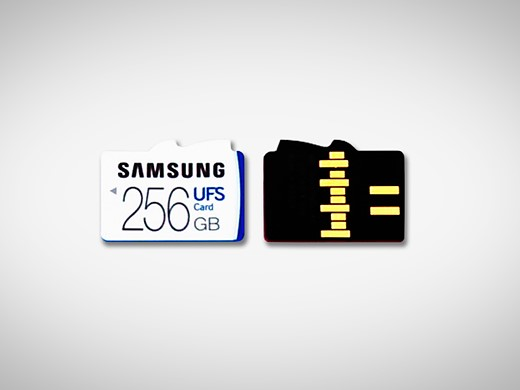Samsung launches first removable UFS memory cards 1