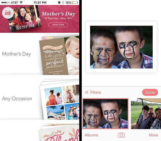 You've got mail: Five photo postcard apps tested 5