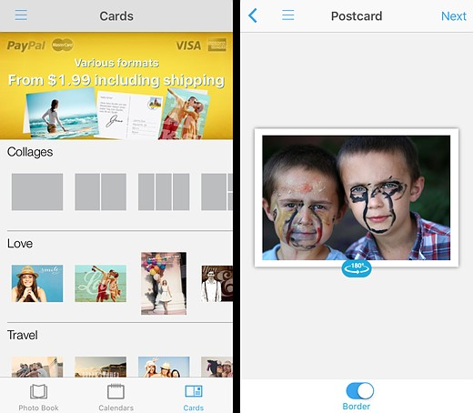 You've got mail: Five photo postcard apps tested 3