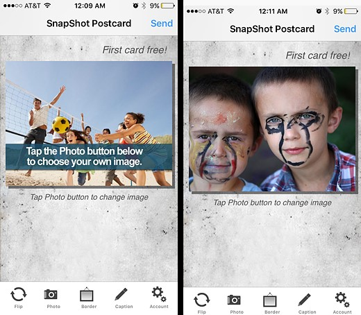 You've got mail: Five photo postcard apps tested 6