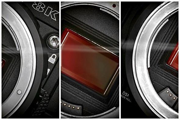 8K Helium Super 35mm sensor on the way from RED 1
