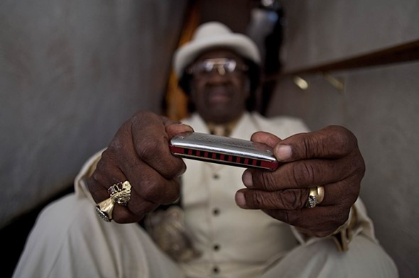 Portraits of the living legends of blues
