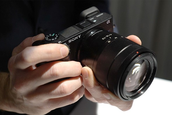 Hands on with Sony's a6300 and GM lenses