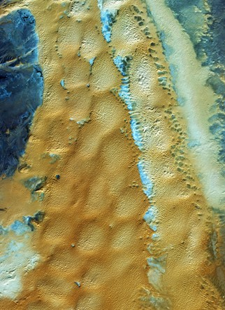 Images of earth from space: Sahara desert