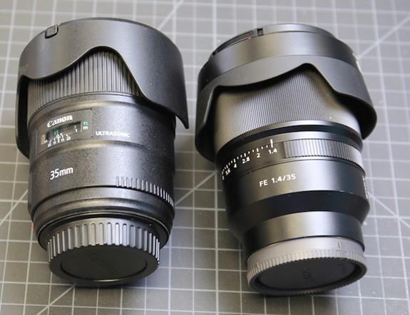 Sony FE 35mm F1.4 ZA teardown