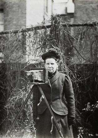 Meet the UK's first female press photographer