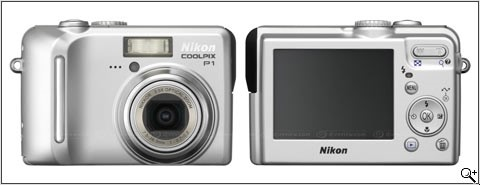 Nikon Coolpix P1 and P2