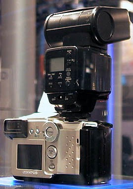 Olympus C-2500L back view (click for larger image)