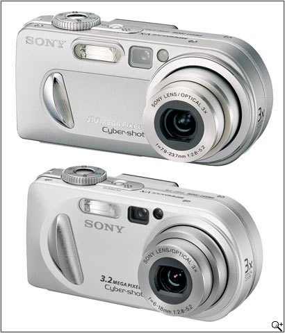 Sony DSC-P10 and DSC-P8