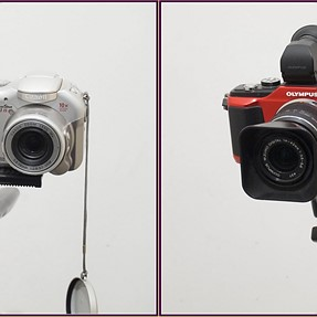 3D with two different cameras