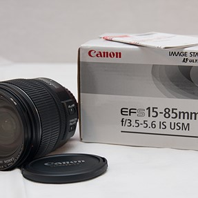 FS: Canon EF-S 15-85mm f/3.5-5.6 IS USM Lens