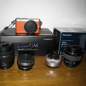 MANY M43 Lenses and GM1 for sale