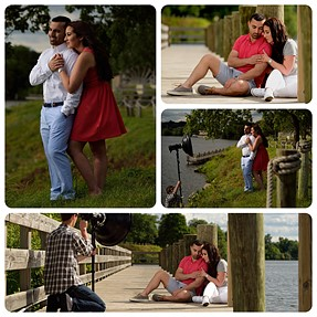 The Profoto B1 has been really great thus far.. Some of BTS engagement pictures attached.