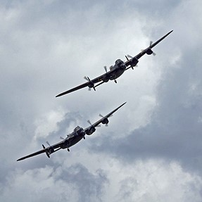 Dunsfold, 2 Lancs, an A77 and 70/400G, couldn't be better for me