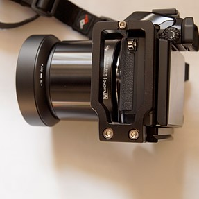Bargain $8 / £5 L Bracket for Olympus EM-10.