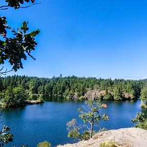 ZR Thesis Lake (sp?) Van Isle, B.C.