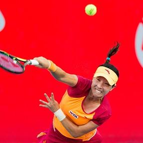 HK Tennis Open 2014 2nd Round J.Zheng 2:0 K.Zhang