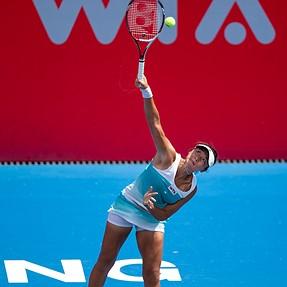 HK Tennis Open 2014 Main Draw Round 1 Ling, ZHANG