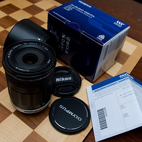 Olympus M.Zuiko 40-150mm with Extras!