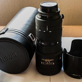 Nikkor 80-200 F2.8D- $575.00; Sigma 50-500mm F4.5-6.3 DG OS HSM (Nikon Mount) - $800.00; Sigma 1.4TC