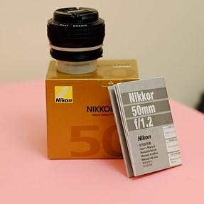 FS: NIKON AI-S NIKKOR 50mm f/1.2