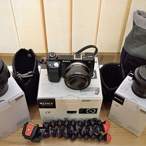 FS: Complete Sony NEX 6 System - with SEL35F18 and SEL1018