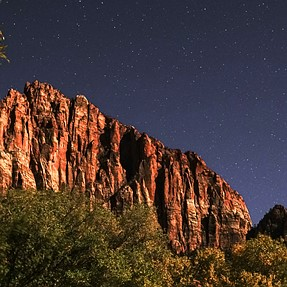 Zion NP in Early November